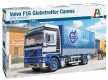 Volvo F16 Globetrotter Canvas Truck with elevator